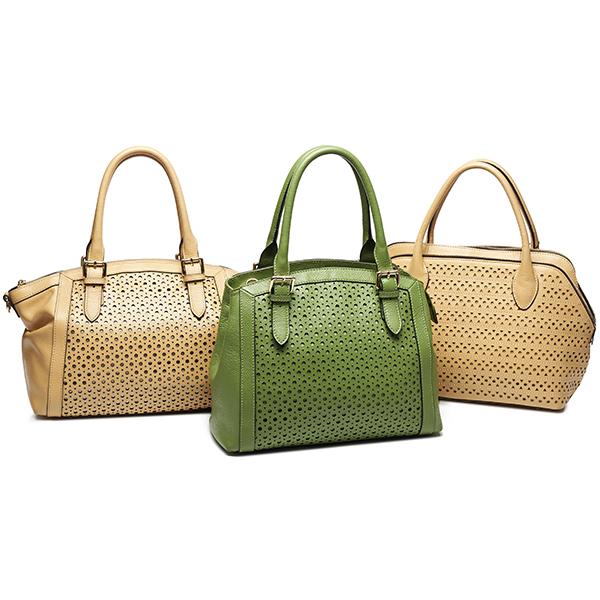 100% Genuine Leather High Quality Designer Handbags Authentic