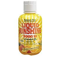 Liquid Sunshine Vitamin D3 5000 IU - Tropical Citrus Flavour