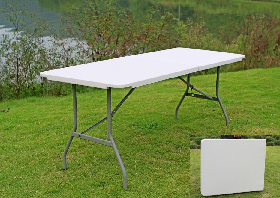 2011 New Series 6-Foot Retangular Fold-in-Half Table