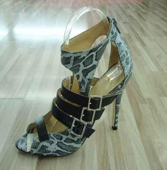 2015 Fashion High Heel Ladies Peep Toe Sandals (HCY02-144)