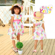 100% Cotton Printed Baby Clothes, Baby Garment in Baby Apparel