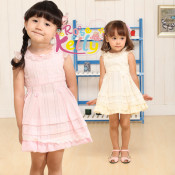 2 Years Old Baby Girl Dress / Baby Garment / Kids Clothing