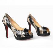 2015 Fashion High Heel Ladies Peep Toe Sandals (HCY02-026)