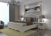 2015 Holike Simple Europe Series White Color 1.8m Bed