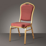 2015 Hot Metal Frame Upholstered Dining Chair