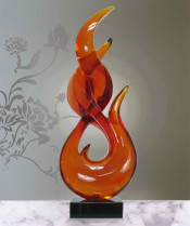 Abstract Resin Sculpture for Office Decoration Td-R067