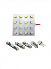 Auto Indoor Light (PCB-16SMD-1210)