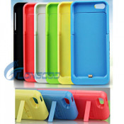 Colorful 2200mAh External Portable Power Bank Battery Charging Case for iPhone 5g 5s 5c