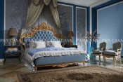 High Quality Classical Wooden Furniture Bedroom Set Bed (GZ-D5001d-2)