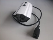 High Resolution 960p Megapixel IP Camera Support Backlight Compensation Network Protocol