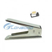 New Metal Micro SIM Card to Mini Nano SIM Card Cutter for iPhone 5 5g
