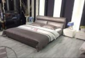 Newest King Size Bed Frabric Bedroom Bed (L880)