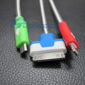 Super Bright Light LED Light USB Charger Cable for iPhone 4G, 5g, 5s, 5c, Samgsung