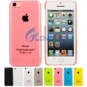 Transparent Color Fashion Hard PC Shell Case Cover Skin for Apple iPhone 5c