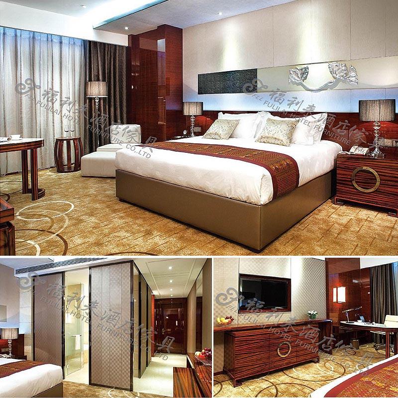 2015 chinese modern hotel restaurant wooden hotel furniture set