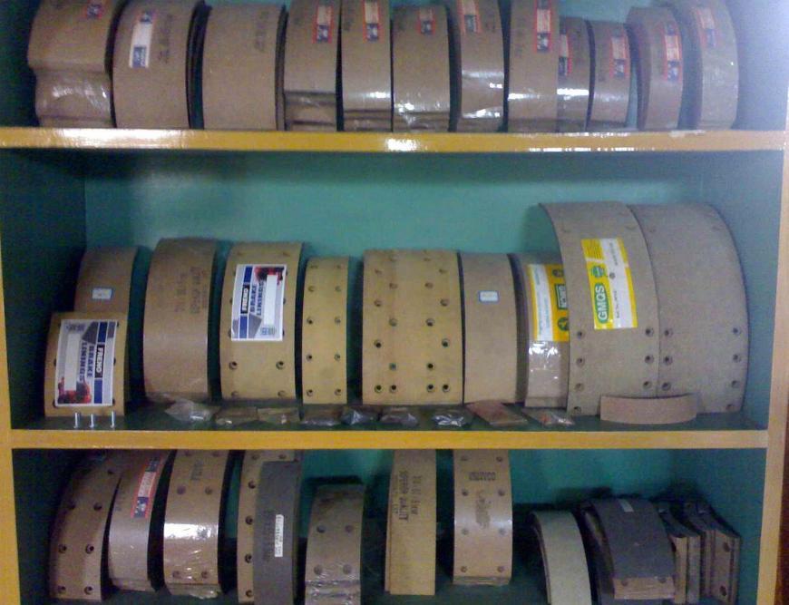 Brake Linings Fmsi 4707, 4709, 4702, 4705, 4715   Unissense com