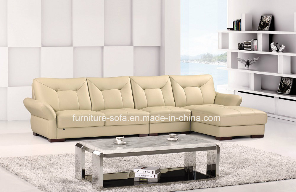 Modern Office Furniture High Back Leather Corner Sofa (B78
