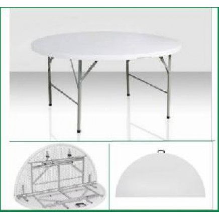 152mm Round Plastic Banquet Table/Party Folding Table/ Restaurant Table (SY-152ZY))