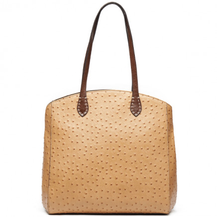 2014 Ostrich Pattern High Quality Leather Bags Woman Leather