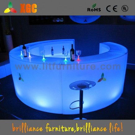 Merveilleux LED Furniture LED Table LED Chairs//Light Up Bar Table