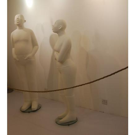 Modern Decoration Fiberglass Stand Floor Lights (1159F1)