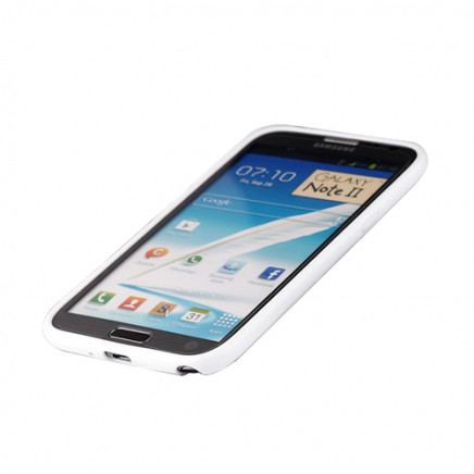 2 in 1 Protect Case for Samsung Galaxy Note 2 – White