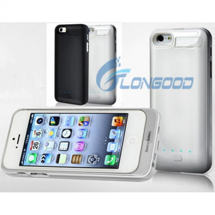 2800mAh USB Cable Portable External Backup Battery Charger Case for iPhone5 5g