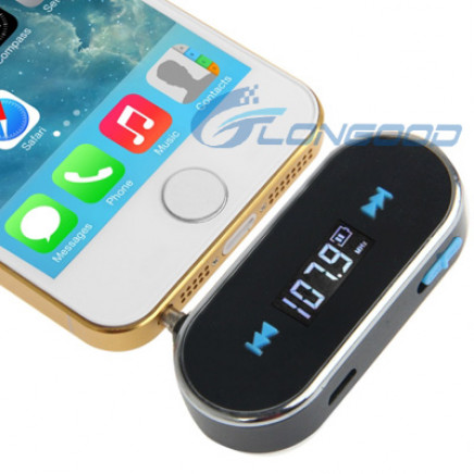 3.5mm Jack FM Transmitter for iPhone 5 & 5c & 5s / iPhone 4 & 4s / Samsung / HTC / Nokia / MP3 Player / Other Audio Devices with 3.5mm Jack