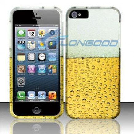 3D Shockproof Cute Pattern Skin Hard Matte Case Cover for iPhone 5g 5s 5