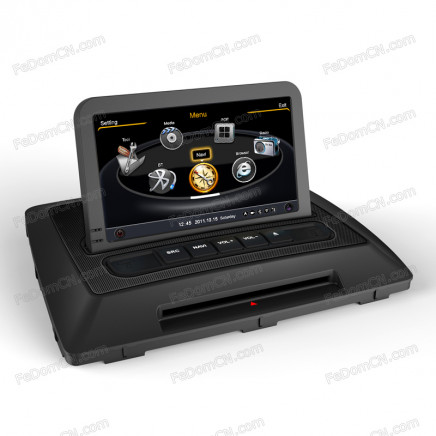 7 Inch Car Audio Stereo System Accessories, Automotive DVD