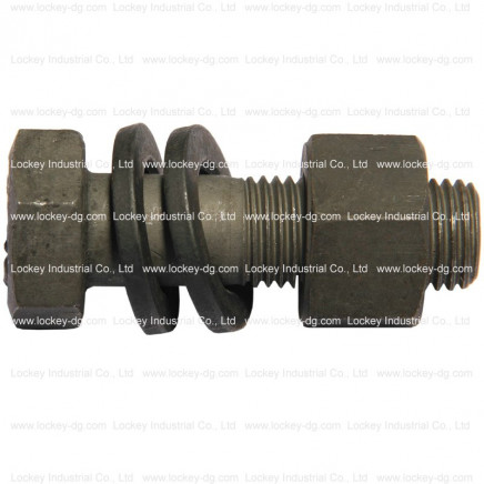 ASTM A490 Structural Bolt, Alloy Steel, 150ksi Minimum