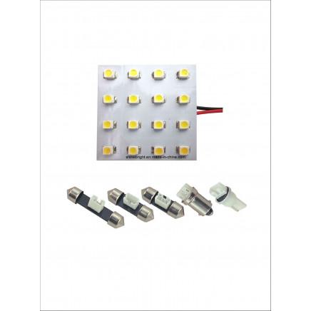Auto Indoor Light (PCB-16SMD-1210)