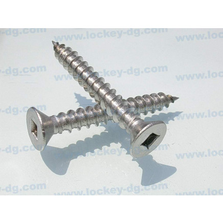 Flat Head Square Drive Deck Screw