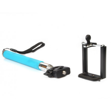 Handheld Monopod Extendable Extending Telescoping Holder for iPhone Galaxy Smartphone