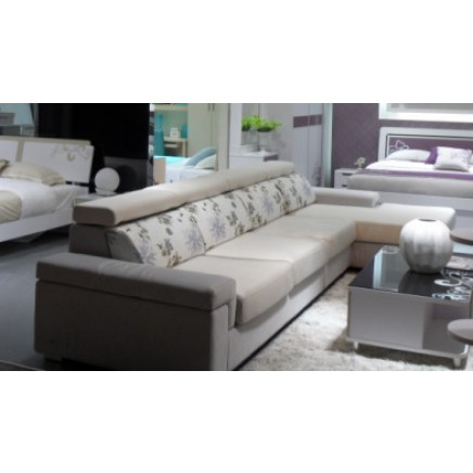Modern Fabric Living Room Sofa Furniture (RFT-2039B)