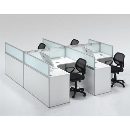 Office Combination Furniture (8019) Best Selling Computer Desk, Cheap Computer Desk, New Design Computer Desk