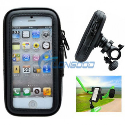 Sand-Proof / Snow-Proof / Dirt-Proof/Waterproof Smartphone Bike Mount for iPhone 5 5s