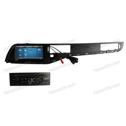 stereo audio car dvd cd mp3 player for eu citroen c5 with radio gps navigation system bluetooth. Black Bedroom Furniture Sets. Home Design Ideas