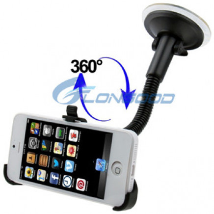 Universal Car Windshield Mount Holder Bracket for Cell Phone for iPhone 5 4 GPS Dock