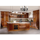 #2012-43 Factory Direct Classic Solid Wood Kitchen Furniture