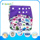 014 Reusable and Washable Eco-Friendly Baby Diapers, New Prints and Hot-Sale Cloth Diapers