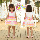100% Cotton Summer Child Clothes (9275)