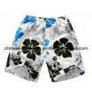 100% Polyester Beach Pants for Men, Beach Shorts