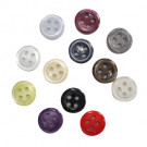 100% Resin 4-Hole Shirts or DIY Design Fashion Pearl Button