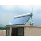 100L Vacuum Tube Unpressure Solar Water Heater