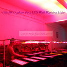108X5w High Power Pink Wedding Lighting