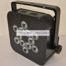 12X10W 5in1 RGBWA Battery Wireless Slim LED PAR for DJ Stage