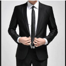 1button Slim Fit Men's Fashion Business Suit
