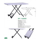 2013 New Plastic 4 Foot Fold-in-Half Table--122xz