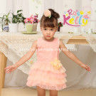 2014 Baby Girl Party Wear (9273)